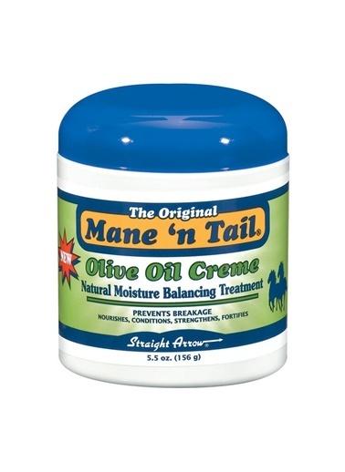 Mane'N Tail Mane'n Tail Zeytinyağı Özlü Nemlendirici ve Besleyici Saç Bakım Kremi Renksiz